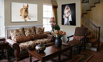 16x20x1.5 Photo-Print Reproduction on Gallery-Wrapped Canvas (a $124.95 value) - Picture It On Canvas in