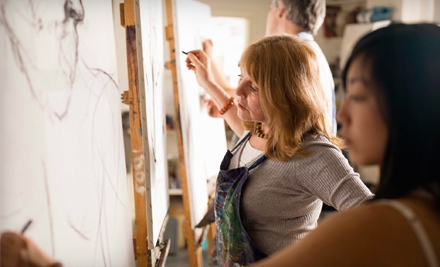 2 Workshops on Drawing and Painting (a $162 value) - The Artisan Learning Studio in Charlotte
