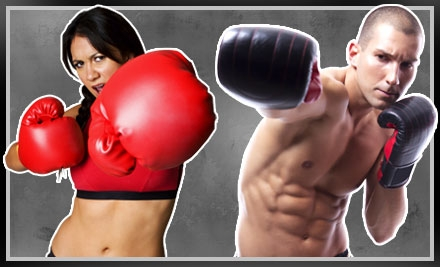Four Kickboxing Classes, 1 Personal-Training Session and 1 Pair of Boxing Gloves (a $105 total value) - iLoveKickboxing.com in Staten Island