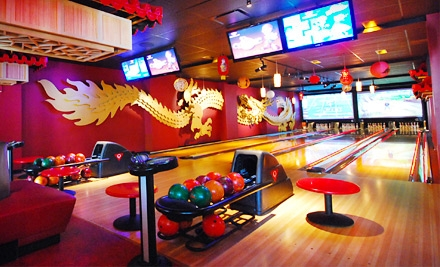 Union Square: $50 Groupon for Bowling and Shoe Rental - Bowlmor Lanes in Manhattan