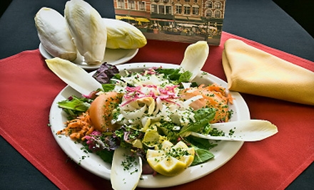 $16 Groupon for Belgian-American Lunch Fare for 2, Valid from from 11:30 a.m. to 2:30 p.m. - The Broken Spoke Cafe in Houston