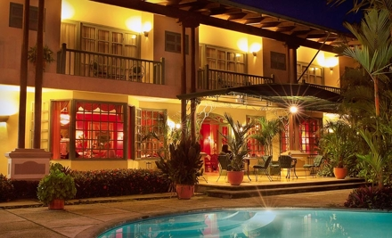 4-Night Stay for Two in a Standard Room - Casa Turire Hotel in Cartago