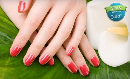 Gel Manicure and Hand Massage (a $30 value) - Natalie B Nails at The Nail Emporium in Dublin