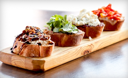 Tapas-Style Meal for 2 (up to $62) - The Drop Bar and Bistro in Kansas City