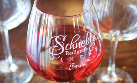 Schnebly Redland's Winery - Schnebly Redland's Winery in Homestead