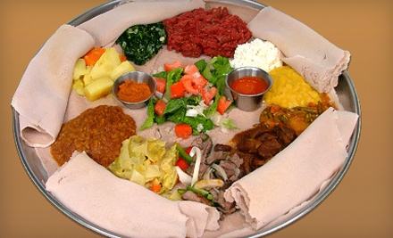 $40 Groupon to Ethiopian Diamond Restaurant - Ethiopian Diamond Restaurant in Chicago