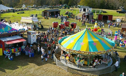 2 Admission Tickets to the Pumpkin Land Festival Monday - Friday (a $10 value) - Heaven Hill Farm in Vernon