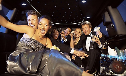4-Hour Limousine Rental for up to 8 on Sat. (a $378 value) - Sublime Limousine Service in