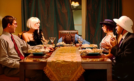 Murder-Mystery Dinner and Performance for 2 (a $140 value) - The Murder Mystery Co. in Chicago