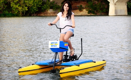 1-Hour Water-Bike Rental for 1 (a $22 value) - Austin Water Bikes in Austin