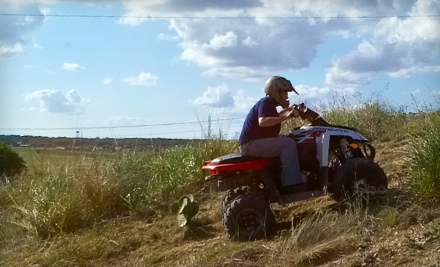 Four-Wheel ATV Adventure for 2 (a $76 value) - Roll Rage in New Braunfels