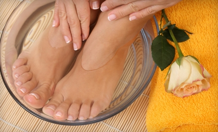 1.5-Hour Mani-Pedi (a $57 value) - All Seasons Salon and Day Spa in Kennebunkport