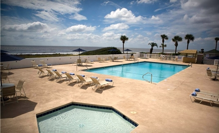 2-Night Vacation Package for 2 (up to a $412 value) - Oceanside Inn and Suites in Jekyll Island