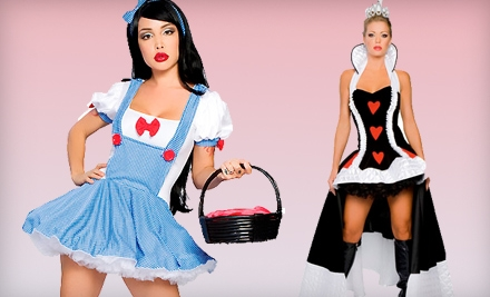 $50 Groupon for Costumes, Lingerie, and Swim Suits - Kisstotease.com in