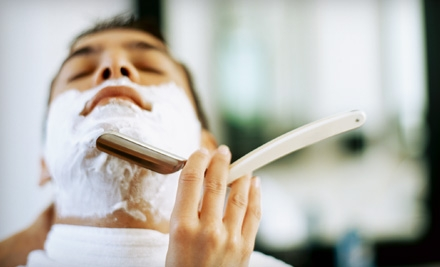 Voucher for 3 Hot-Lather Master Shaves (a $30 value) - Moto Cuts GP in Indianapolis