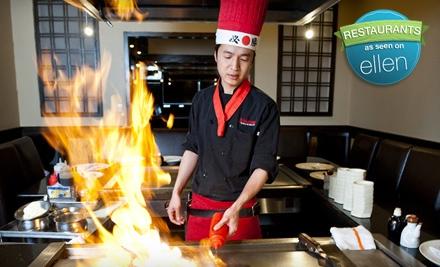 Hibachi Dinner for 2 (up to a $54 value) - Yokohama Japanese Restaurant in Maple Shade