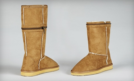 1 Small Pair of  CityBoots, Fits Sizes 5-6 (an $80 value) - CitySlips in