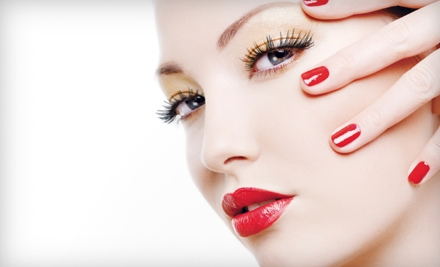 Half Set of Eyelash Extentions (a $125 value) - Posare Salons in Las Vegas