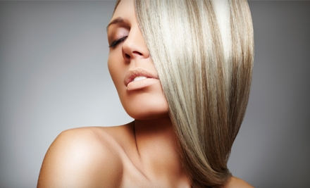 1 Hair and Nail Package (up to a $160 total value) - Planet Color Salon & Nail Spa in Andover