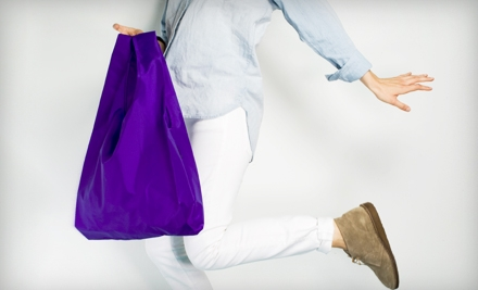 $10 Groupon for Reusable Shopping Bags - Baggu in