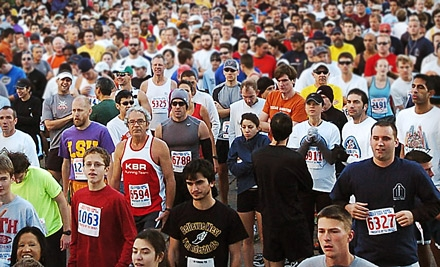 TXU Energy 2011 Turkey Trot on Thurs., Nov. 24: 1 Un-Timed Entry (a $25 value) - Sheltering Arms Senior Services in