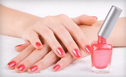 2 Shellac Spa Manicures (a $80 value) - Maria Mock at Simply Irresistible in Round Rock