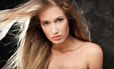 Hair Package (up to a $125 total value) - Marc Alan Day Spa in Flossmoor
