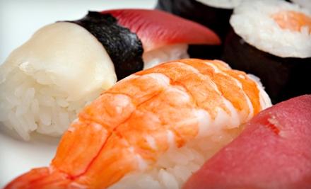 $20 Groupon for Sushi, Sashimi, and Drinks During Lunch - Kobe Cho Sushi in Salt Lake City