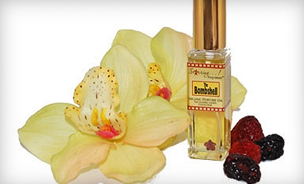One Custom Organic Perfume (a $26 value) - Starring...! Fragrances in