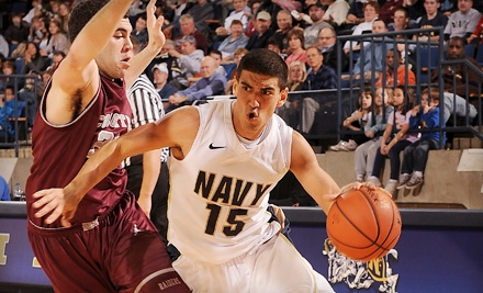 U.S. Naval Academy Men's Basketball vs. Tulane on Tues., Nov. 22 at 7PM: General Admission Package for 2 - U.S. Naval Academy Basketball in Annapolis