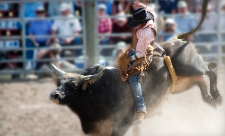 Ticketmaster: Tom Thumb Texas Stampede Rodeo at Allen Event Center from 11/10-11/12: Plaza Admission for Two - Tom Thumb Texas Stampede Rodeo in Allen