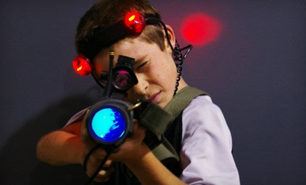 90-Minutes of Open Play for 2 (a $50 value) - StraTAGem Laser Missions in Frankfort