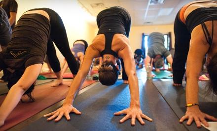 10 Yoga Classes ($150), a