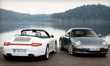 60-Minute, 50-Mile Porsche Carrera Rental (a $250 value) - W Exotic Car Rentals in Houston