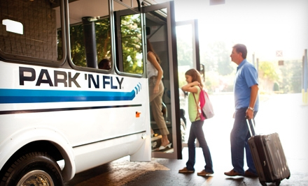 7 Days of Airport Parking and Shuttle Service (an $84 value) - Park 'N Fly in College Park
