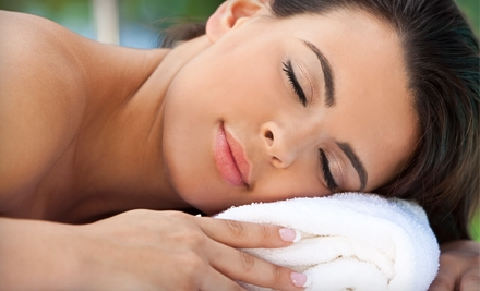 Spa Package for 2 with Two 60-Minute Massages, 2 Facials, and 2 Mani-Pedi (a $570 value) - Midtown Day Spa in Houston
