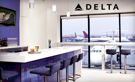 One-Visit Pass (a $50 value) - Delta Sky Club in