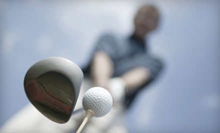 3 Private Lessons with an 18-Hole Round of Golf with Cart and 2 Group Clinics (a $529 total value) - Ratcliffe Golf Services in Charlotte