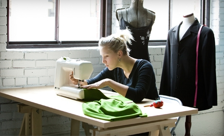 3-Hour Sewing Basics Workshop with Sewing-Machine Rental (a $77 value) - The Sewing Studio in Pasadena