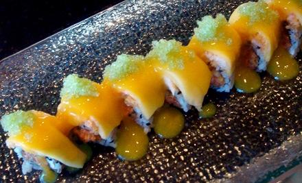 $30 Groupon to Ginza Asian Bistro & Sushi - Ginza Asian Bistro & Sushi in Grand Prairie