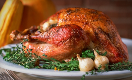 10-12 Pound Smoked Turkey for Thanksgiving (an $80 value) - Black Tie Barbecue in Atlanta