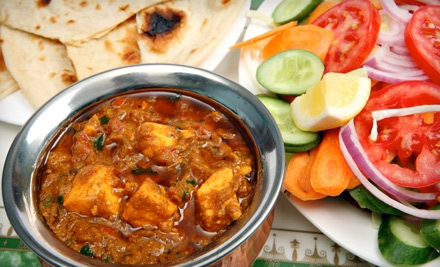 Dinner for 2 (up to a $60 value) - Village Indian Cuisine Restaurant in Jersey CIty