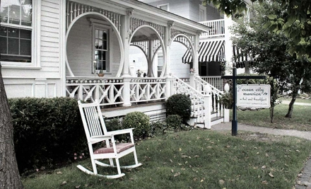 1-Night Stay for Two on Saturday - Ocean City Mansion Bed & Breakfast in Ocean City