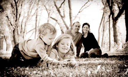 45-Minute Family-Photo Session and Two 5