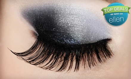 Set of Glamour or Full Eyelash Extensions (a $250 value) - Lash Addictx in Dallas