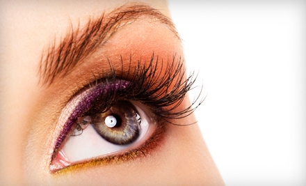 Full Set of The Wink Eyelash Extensions (a $130 value) - Big Girl Makeup Bar & Spa in Chicago