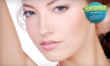 6 Laser Hair-Removal Treatments on 1 Medium Area (up to a $1,350 value) - New Heavenly Spa in Brooklyn