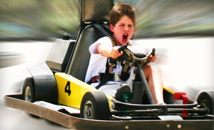 2-Hours of Unlimited Golf and Go-Karting and Mini Golf for 2 (a $33.98 value) - Zone Action Park in Lewisville