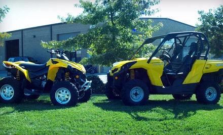 24-Hour Can-Am Commander UTV or ATV Rental on a Weekday (a $200 value) - Recreational Rentals in Sacramento