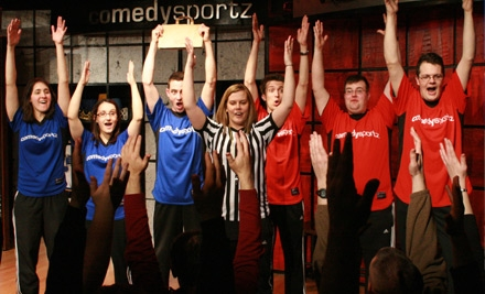 The ComedySportz Theatre - The ComedySportz Theatre in Chicago